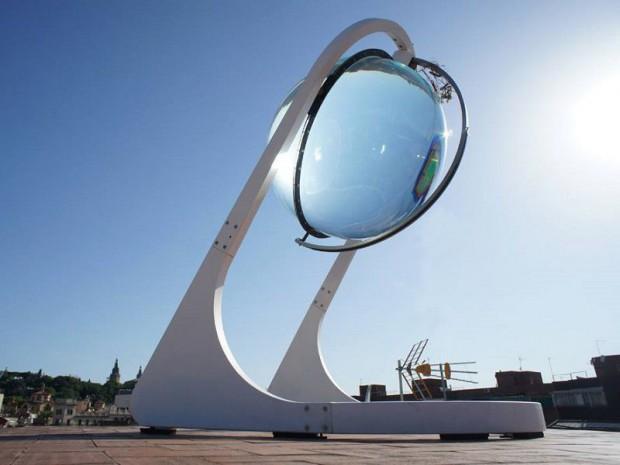 L\'avenir s\'écrit dans une boule de cristal solaire