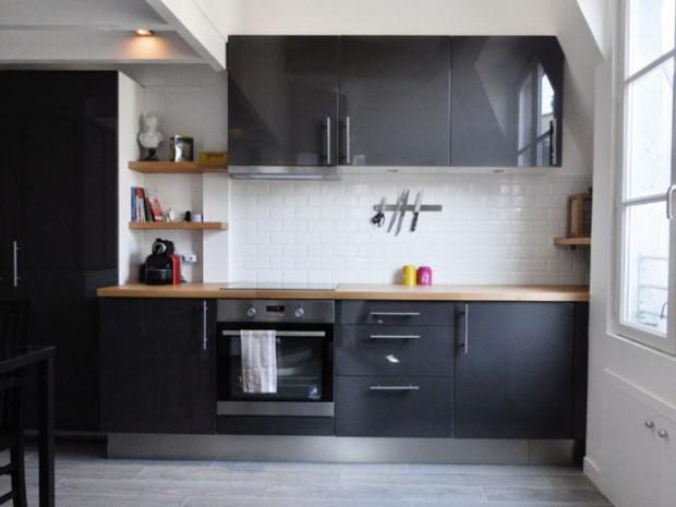 Rénovation d'un appartement sous pente Moutiez Haller