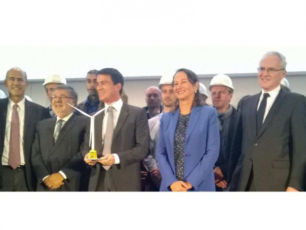 Valls et royal à saint nazaire