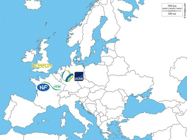 Carte Europe certifications