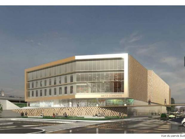 Centre des congrès de Metz - Wilmotte