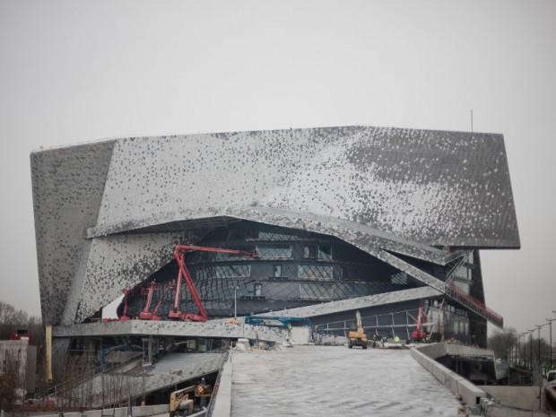 La Philharmonie de Paris réalisée par Jean Nouvel inaugurée mercredi 14 janvier 2015