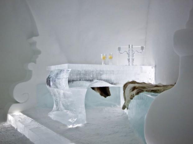 Hôtel de glace suite Rococo