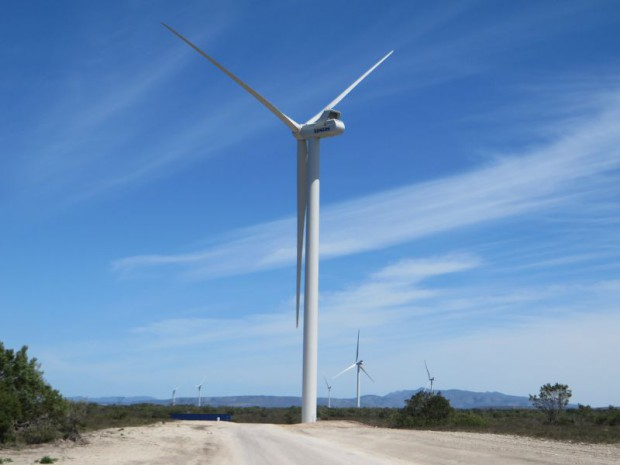 Le parc éolien de Grassridge