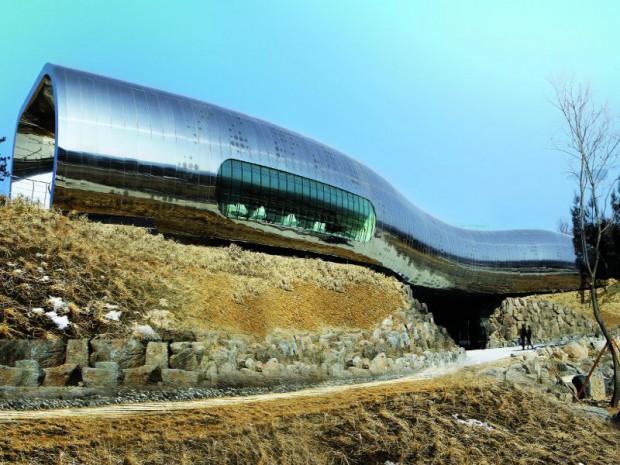 Musée de la préhistoire, Jeongok-Geyongki-Do par X-TU