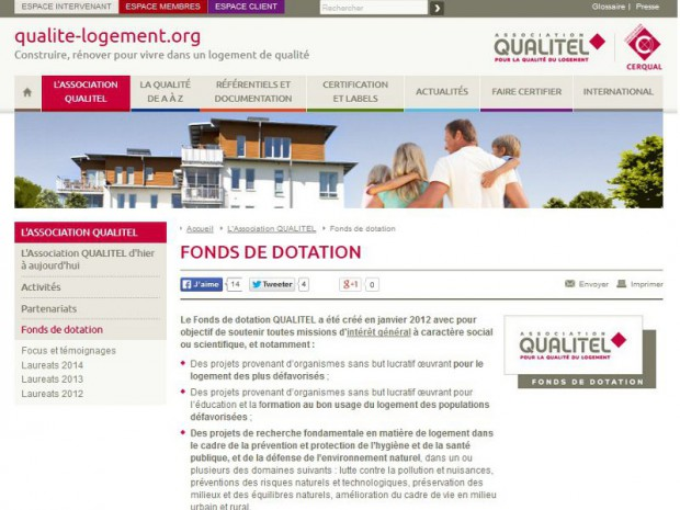 fonds dotation qualitel