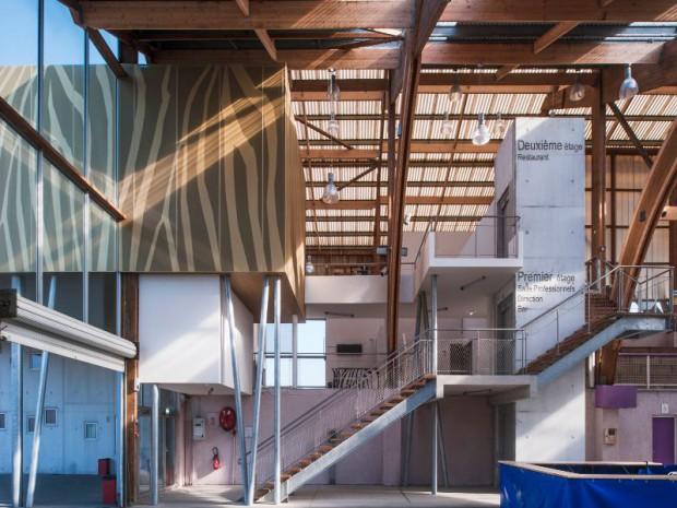Livraison de l'hippodrome d'Yffiniac en Bretagne par Nomade Architectes