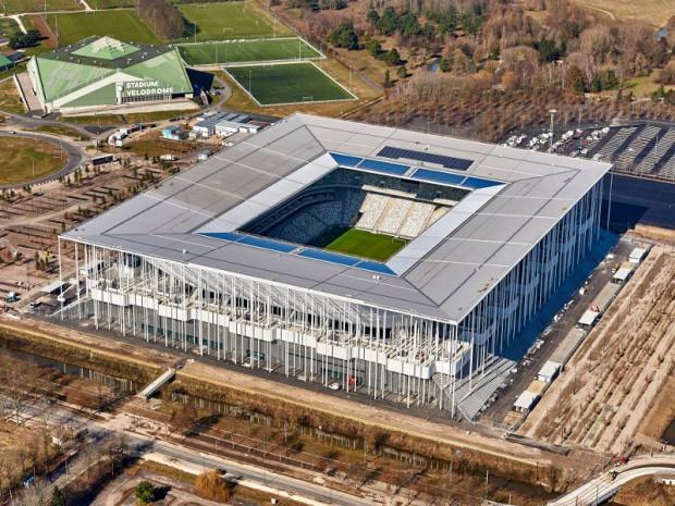 Le nouveau Stade de Bordeaux réalisé par les architectes Herzog et de Meuron