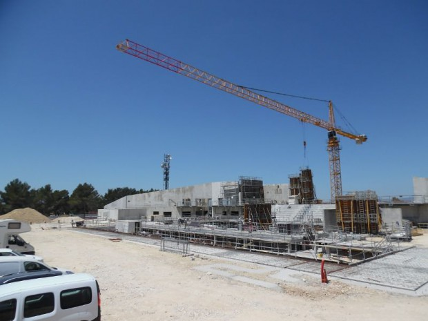 Futur centre aquatique Venelles