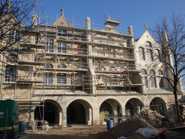 Rénovation de l'hôtel Tyndo à Thouars (Deux-Sèvres)