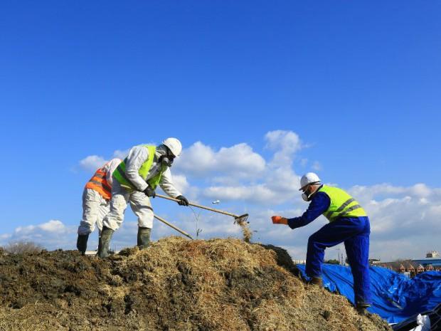 400 m3 de terre ont été dépollués