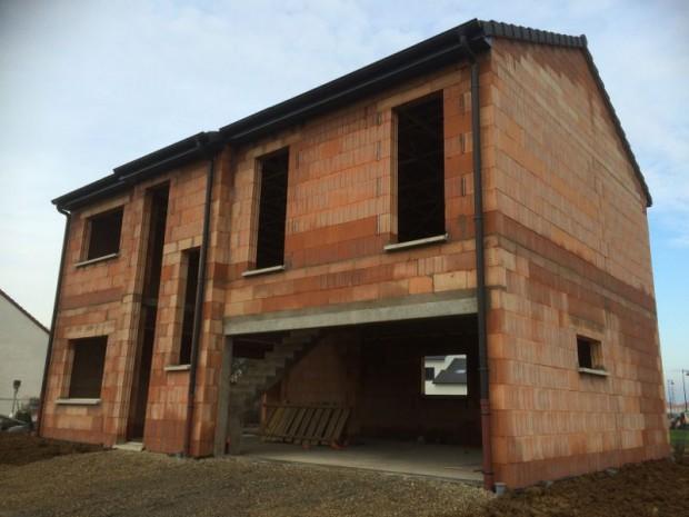 maison individuelle - en construction