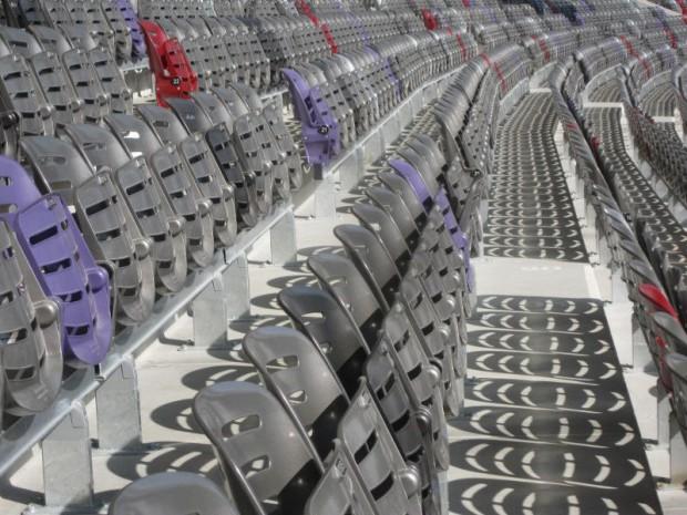 Le nouveau stadium à Toulouse rénové et inauguré le samedi 16 janvier 2016