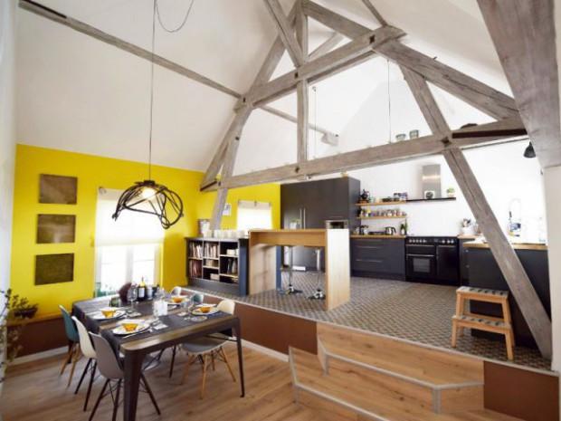 Une Maison Alsacienne Retrouve Charme Lumire Et Modernit