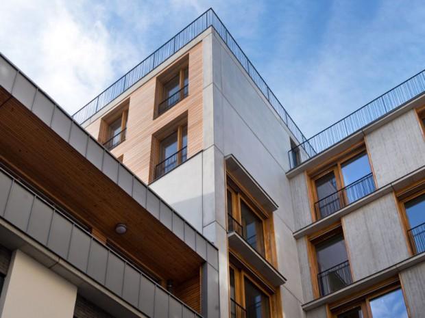 Réalisation de logements sociaux au 61 rue saint-charles dans le 15ème arrondissement de Paris