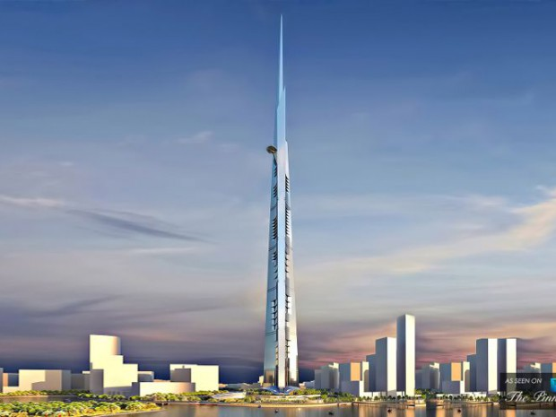 Jeddah Tower Arabie Saoudite