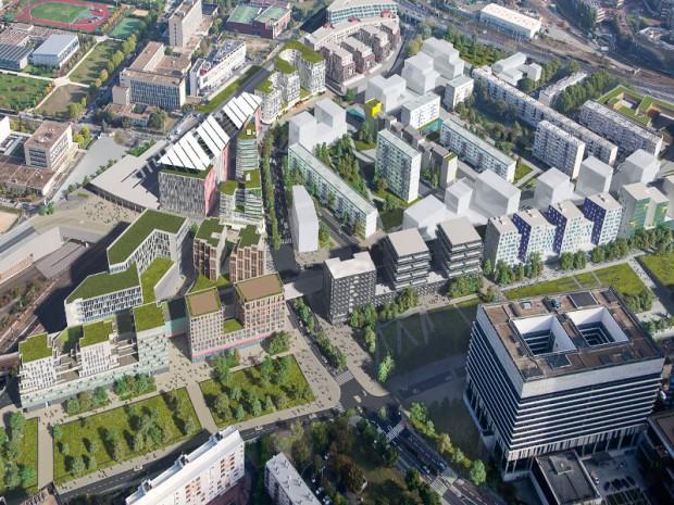 Les projets symboliques à La Défense: Coeur de quartier