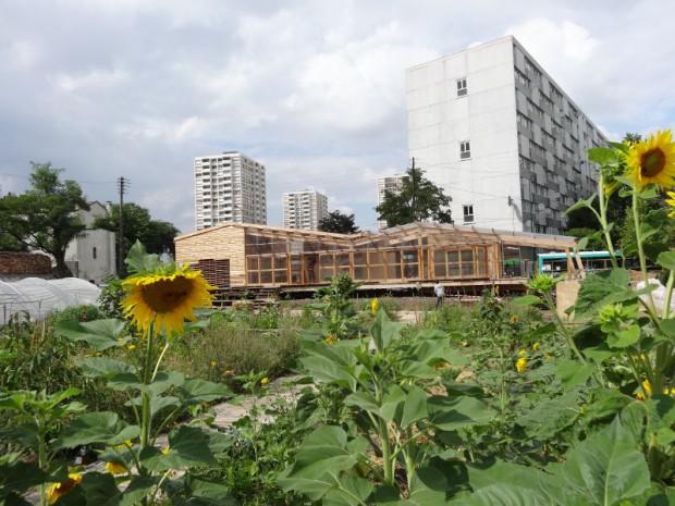 Atelier d'Architecture Autogéré - Agrocité 2013 en cours Colombes