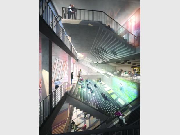 Reconstruction du cinéma Alesia pour Gaumont-Pathé  dans le 14ème arrondissement de Paris