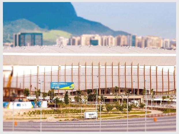 JO Rio 2016 : Carioca Arena 2
