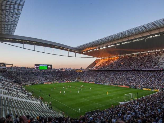 JO RIO 2016 : Arena Corinthians  à Sao Paulo (Brésil)