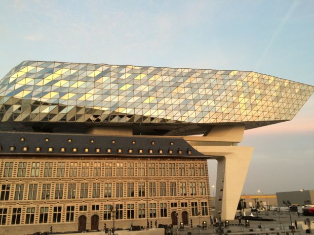 Maison portuaire d'Anvers, Zaha Hadid