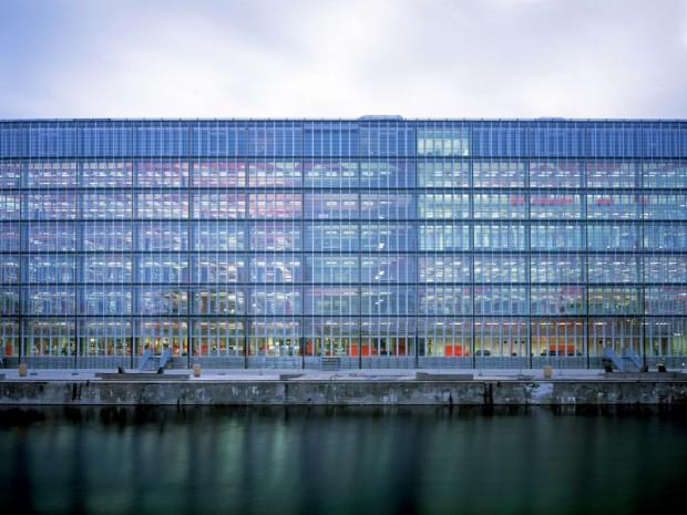 Médiathèque André Malraux à Strasbourg en 2008 par Jean-Marc Ibos & Myrto Vitart, Grand Prix national de l'Architecture 2016