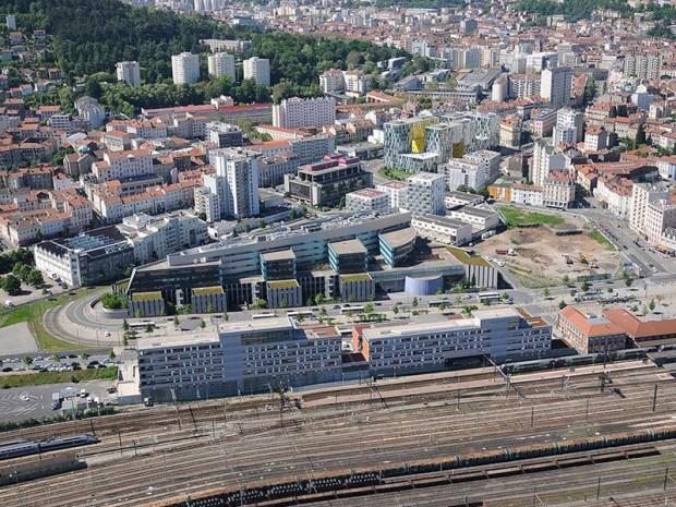 Le projet du siège Actemium, filiale du groupe Vinci dans la ZAC de Châteaucreux
