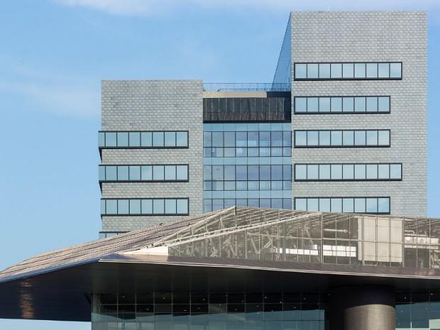 Nouveau siège social BNL-BNP Paribas Le Grand Rome réalisé en novembre 2016 par 5+1AA architectures