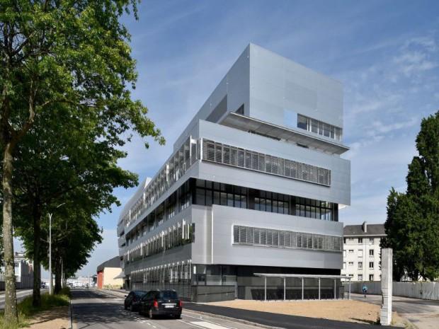 Bio Ouest, pépinière et hôtel d'entreprises. Centre de recherche sur les biotechnologies à Nantes (Loire Atlantique)