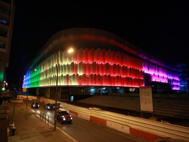 U Arena à Nanterre (Hauts-de-Seine)