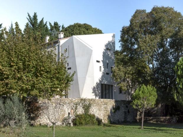 Réalisation-extension d'un mazet, un petit mas provençal dans le Gard