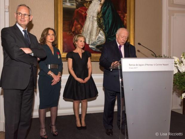 Corinne Vezzoni Légion d'honneur