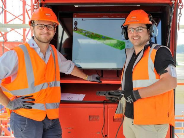 Cabine BIM ou armoire numérique chez Bouygues Construction