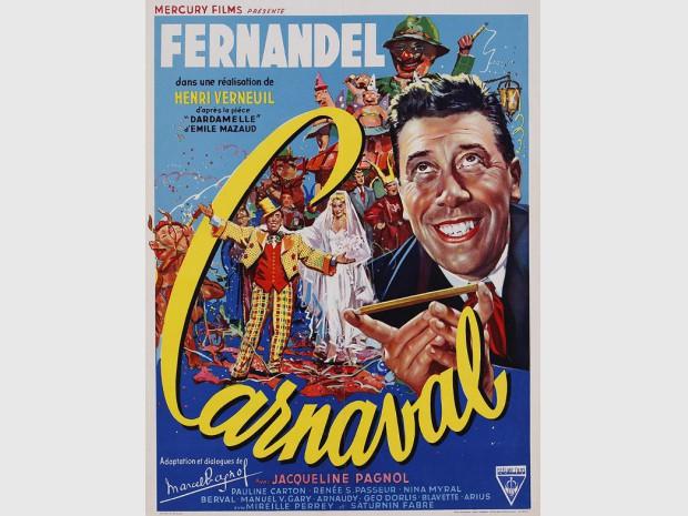 Affiche du film Carnaval d'Henri Verneuil