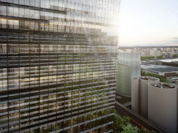 Le projet des tours Duo, imaginé par Jean Nouvel, dans le 13ème arrondissement de Paris