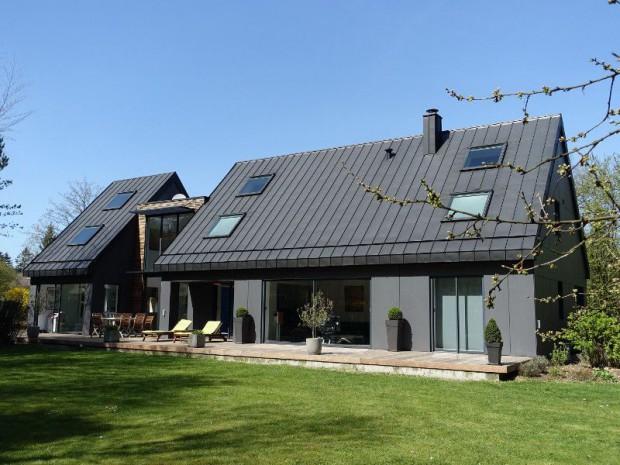 Rénovation maison des années 80 en villa contemporaine