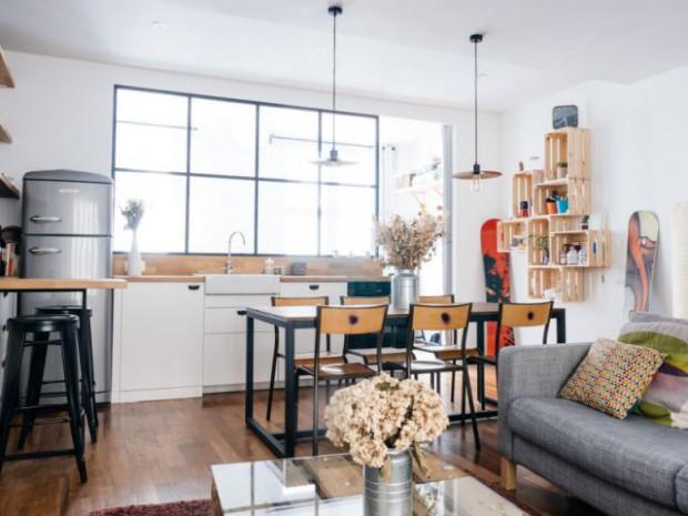 Un appartement qui s'agrandit et s'illumine