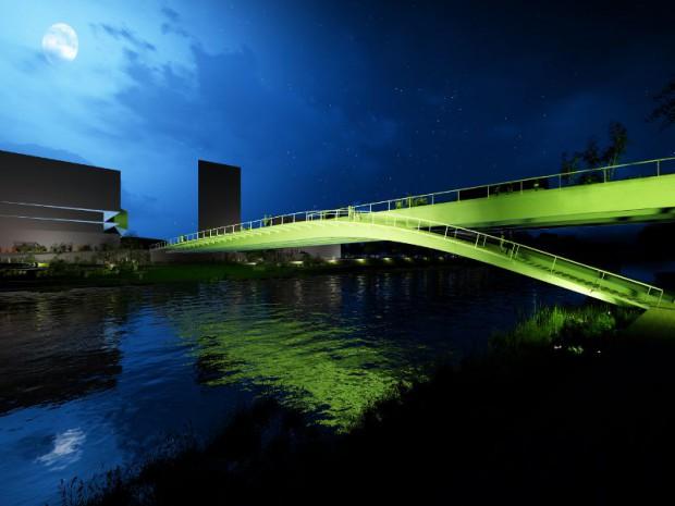 JO PARIS 2024  : une nouvelle passerelle pour relier Saint-Denis et l'île-Saint-Denis en Seine-Saint-Denis