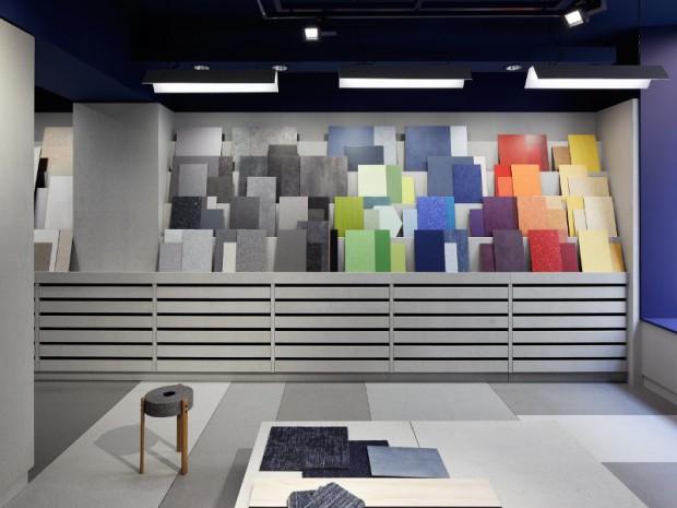 Ouverture en septembre 2017 de l'Atelier Tarkett au 43 rue de Saintonge dans le troisième arrondissement de Paris