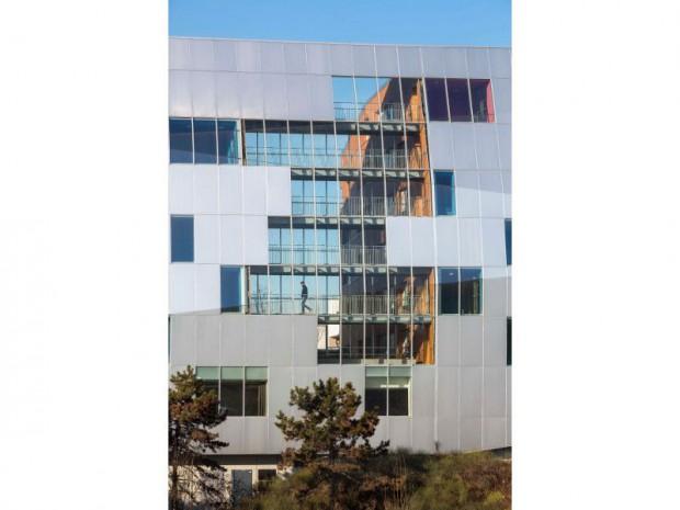 Immeuble paroi acoustique à Fresnes (94)