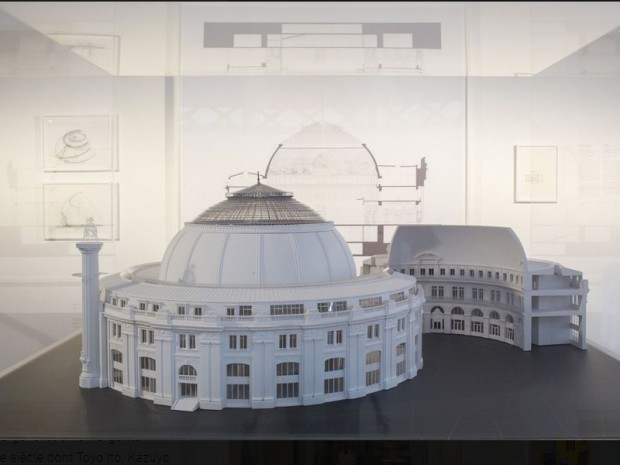 """L'exposition """"Architectures japonaises à Paris"""" au Pavillon de l'Arsenal à Paris"""
