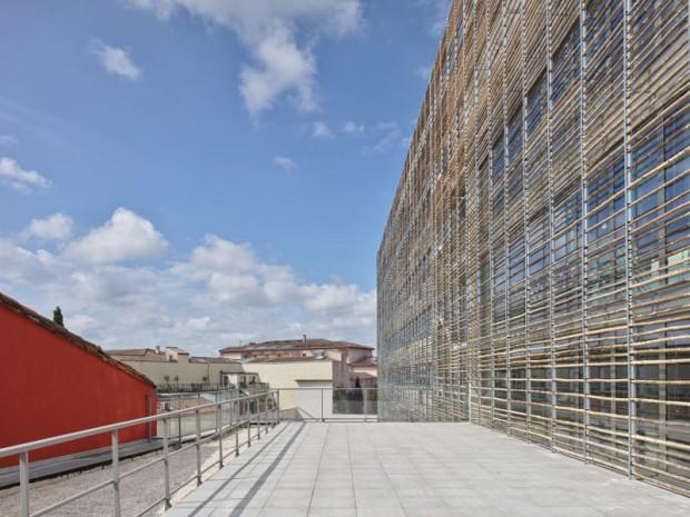 """Réalisation de l'immeuble """"Elipsys"""" par Taillandier Architectes Associés (Toulouse)"""