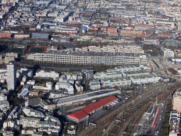 SNCF a inauguré, le 31 août 2017, dans le 19ème à Paris, le nouveau site d'urbanisme transitoire, l'Aérosol, avec son musée dédié au Street Art