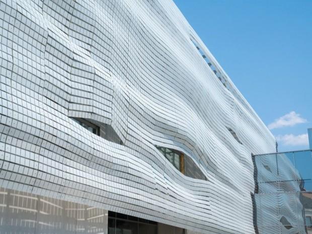 Livraison le 31 août 2017 du musée de la Romanité de Nîmes conçu par l'architecte Elizabeth de Portzamparc