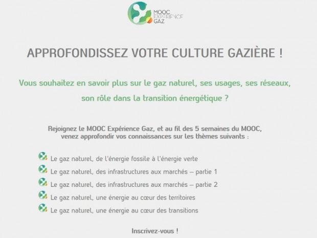 MOOC gaz