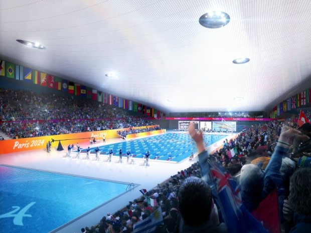 Site Paris 2024 : le centre aquatique de Saint-Denis (Seine-Saint-Denis)
