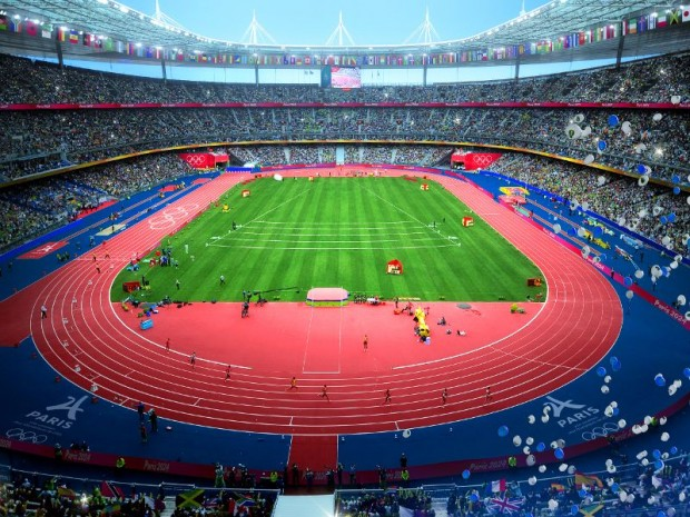 JO Paris 2024 :  stade de France à Saint-Denis (Seine-Saint-Denis)