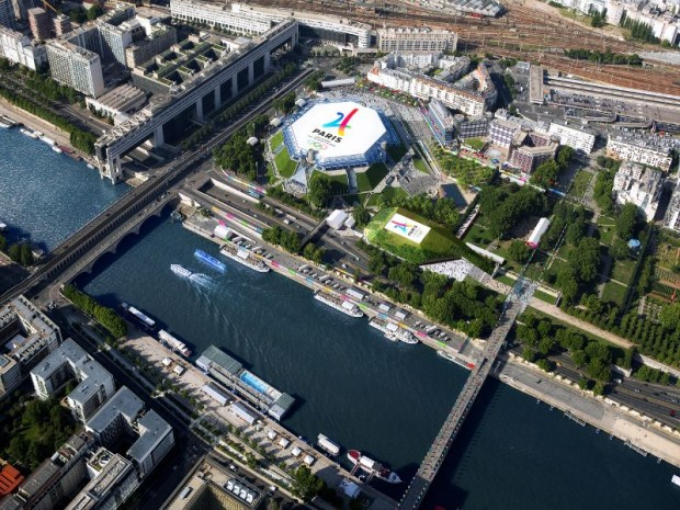 Sites des JO Paris 2024  à construire : Bercy Arena II