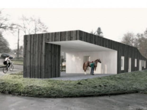 Prix Europe 40 Under 40 Architectes & Designers 2016 : Ferme pédagogique Janville-sur-Juine (91)